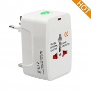 All-in-one Travel Adapter Power Adapter Plug Adapter Wall Charger for UK/EU/US/AU (FC931)