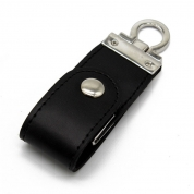 4GB Leather USB Flash Drive Memory Stick for Business Gift (LE03)
