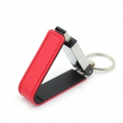 4GB Leather USB Flash Drive Memory Stick for Business Gift (LE01)