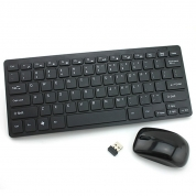 2.4GHz Wireless Portable Keyboard and Mouse Combo Set for PC, Desktop, Laptop (C903)