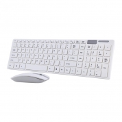 2.4GHz Wireless Portable Keyboard and Mouse Combo Set for PC, Desktop, Laptop (C906)