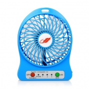 Mini Portable Desktop USB Rechargeable Electric Fan for Promotional Gift (D1)