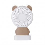 Mini Portable Desktop USB Rechargeable Electric Fan for Promotional Gift (D3)
