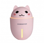 4 in 1 USB 320ml Air Humidifier & Night Light & LED Light & Fan for Promotional Gift (CAT320)