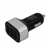 USB Car Charger Charging Power Adapter with 3 USB Port (UB301)