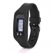 Digital LCD Pedometer Run Step Walking Distance Calorie Counter Watch Bracelet (EB03)