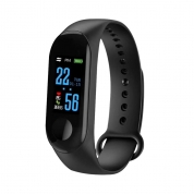 Smart Bracelet Smart Watch Sport Heart Rate Blood Pressure Health Tracker Watch (M3)