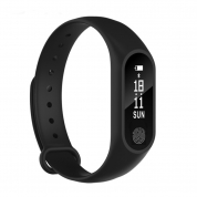 Smart Bracelet Sports Step Blood Pressure Heart Rate Waterproof Bracelet (M2)