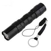 3W LED Flashlight Mini Portable Light Aluminum Travel Lamp for AA Battery (HL02)