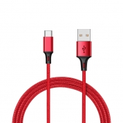 USB Type C Cable 3A Fast Charging USB-A to USB-C Charge Braided Cord